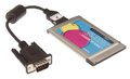 Single Port Serial RS-232 PCMCIA Adapter DB-9 Serial