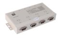 USB-4COMi-SI-M USB to Quad RS-422/485  Metal case with DIN-Rail