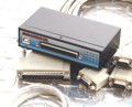 Industrial 8-Port RS-232 USB-to-Serial Adapter, Compact Metal Case with 1m Octopus Cable, DIN rail