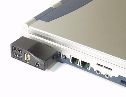 USB & Firewire FireWire/1394 & Hi-Speed USB 2.0 Combo CardBus PCMCIA ...