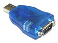 USB RS232 Serial Adapter DB9 Male for Windows 7 (32/64 bit) Adapter Only